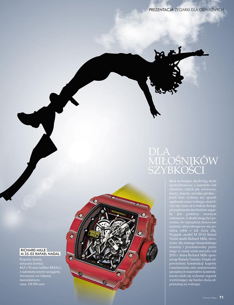 Z Dreszczykiem Emocji Zegarki Dla Odwaznych Chronos Online Portal Milosnikow Zegarkow
